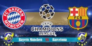 Champions League. Bayern - Barcelona