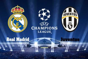 Champions League. Real Madrid - Juventus