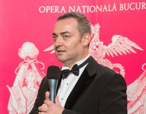 Directorul General al Operei Nationale Bucuresti-Razvan Ioan Dinca