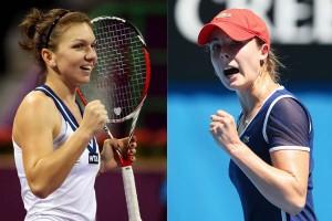 Tenis, Madrid. Simona Halep - Alize Cornet