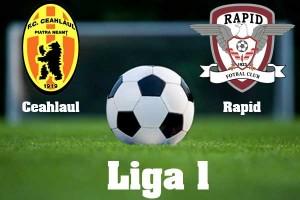 Liga I, etapa 31. Ceahlaul - Rapid