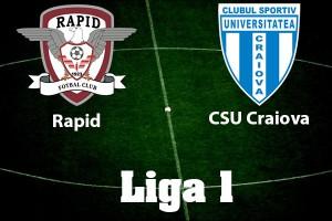 Liga I, etapa 32. Rapid - CSU Craiova