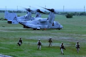 MV-22B Ospreys arrive in Romania!