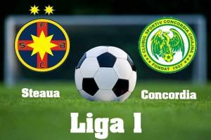 Liga I, etapa 31. Steaua - Concordia