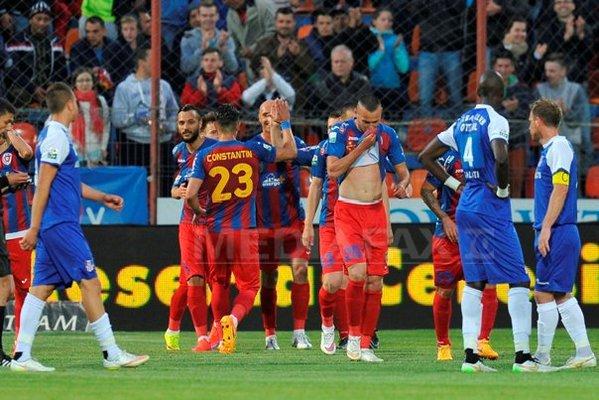 Steaua, campioana României, după ce Oțelul a învins-o pe ASA Tg. Mureș (video)