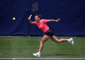 Tenis Birmingham. Simona Halep - Naomi Broady