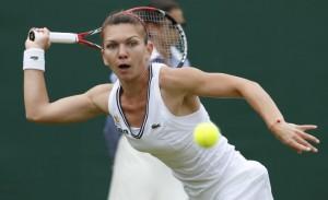 Wimbledon. Simona Halep - Jana Cepelova