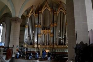 biserica neagra orga