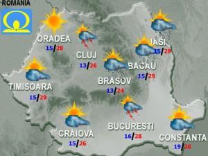 vremea meteo prognoza 1 iulie 2015
