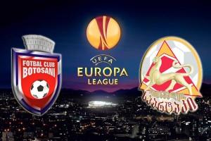Europa League. Botosani - Tskhinvali