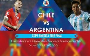 Copa America 2015. Finala Chile - Argentina