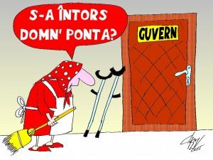 INTOARCEREA LUI PONTA