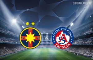Champions League. Steaua - Trencin