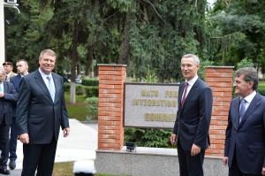 NATO Secretary General visits Romania