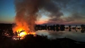 incendiu restaurant insula neptun