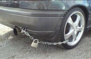 sistem de siguranta la masina