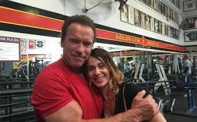 Arnold Schwarzenegger si nadia comaneci
