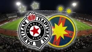 Champions League. Partizan - Steaua.