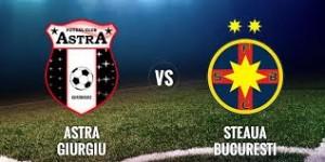 Liga I, etapa 6. Astra - Steaua