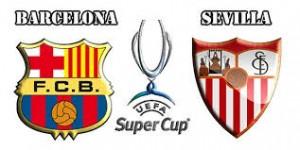 Supercupa Europei. Barcelona - Sevilla