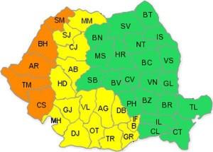 harta canicula 14 august