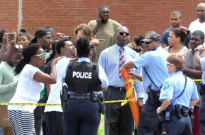 Protest Following St. Louis Police Shooting