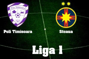 Liga I,etapa 10. Poli Timisoara – Steaua