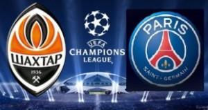 Champions League. Șahtior  - Paris Saint-Germain