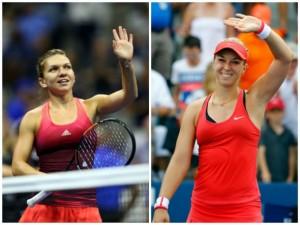 Simona Halep s-a calificat în sferturi la US Open