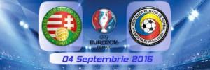 Ungaria - Romania, EURO 2016