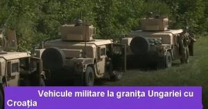 armata granita ungaria croatia