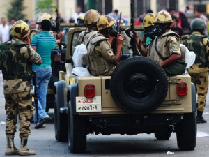 Clashes Between Pro- And Anti-Morsi groups - Alexandria