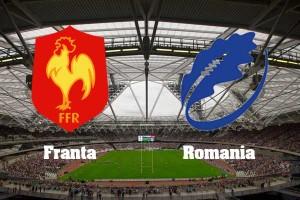 CM 2015 rugby. Franta - Romania