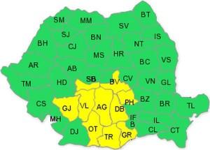 harta-cod-galben-ploi.28 septembrie 2015