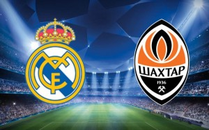 Champions League. Real Madrid - Şahtior Doneţk