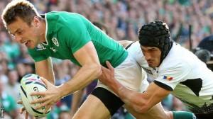 CM rugby 2015. România - Irlanda, 44-10