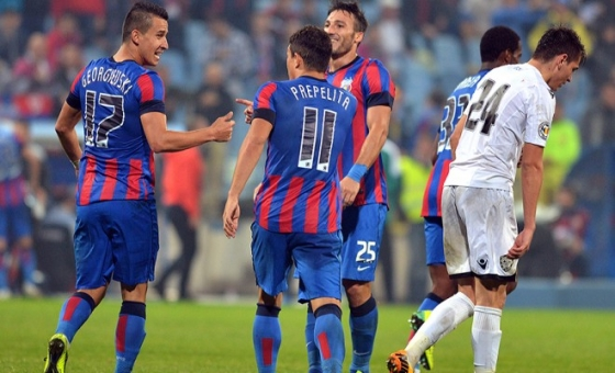 Cupa Ligii. Steaua - Poli Timişoara