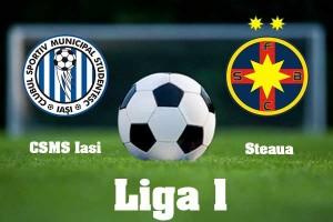 Liga I, etapa 13. CSMS Iași - Steaua, scor 1-2