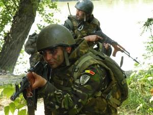 """Militari din Batalionul 528 Cercetare """"Vlad Ţepeş"""""""