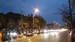 marsul motocilistilor