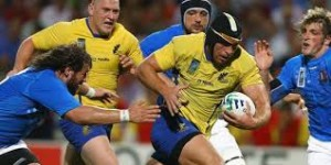 CM rugby. România - Italia