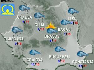 vremea meteo prognoza 17 octombrie 2015