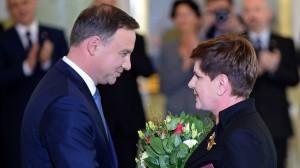 Andrzej Duda si Beata Szydlo
