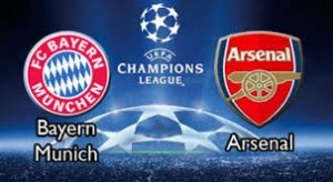 Champions League. Bayern Munchen - Arsenal