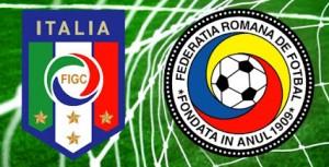 Fotbal. Italia - Romania