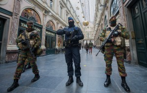 Belgium security raised