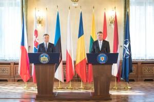 Iohannis si presedintele polonie la summitul nato
