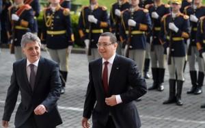 Mircea Dusa si Victor Ponta