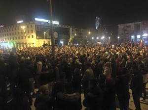 Proteste Bacau