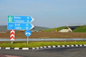 Nodul rutier Topolovatul Mare la km 73
